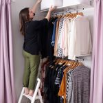 Creating an Open Closet System - A Beautiful Mess