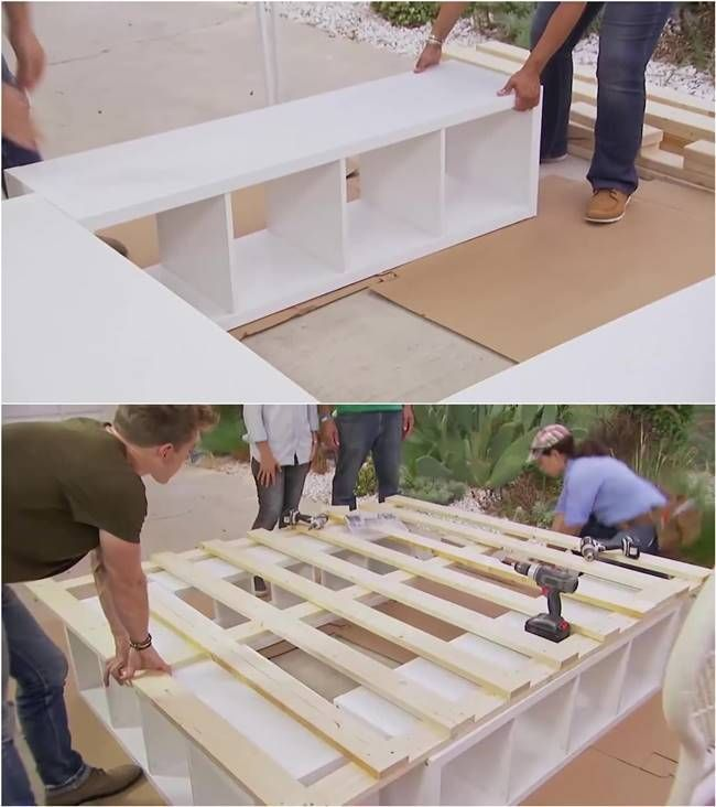 Creative Ideas – How to Build a Platform Bed with Storage – i Creative Ideas