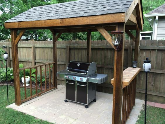 DIY Backyard Projects on a Budget – BBQ & Grilling Stations – https://bingefashion.com/home