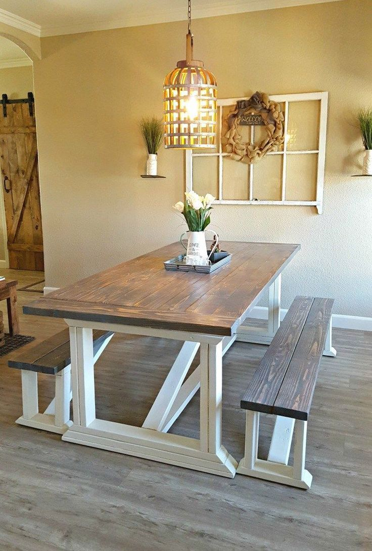 DIY Farmhouse Table – Leap of Faith Crafting
