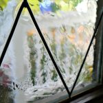 DIY Faux Lead Glass - would love to have the courage to try this! Crystal Clear ...