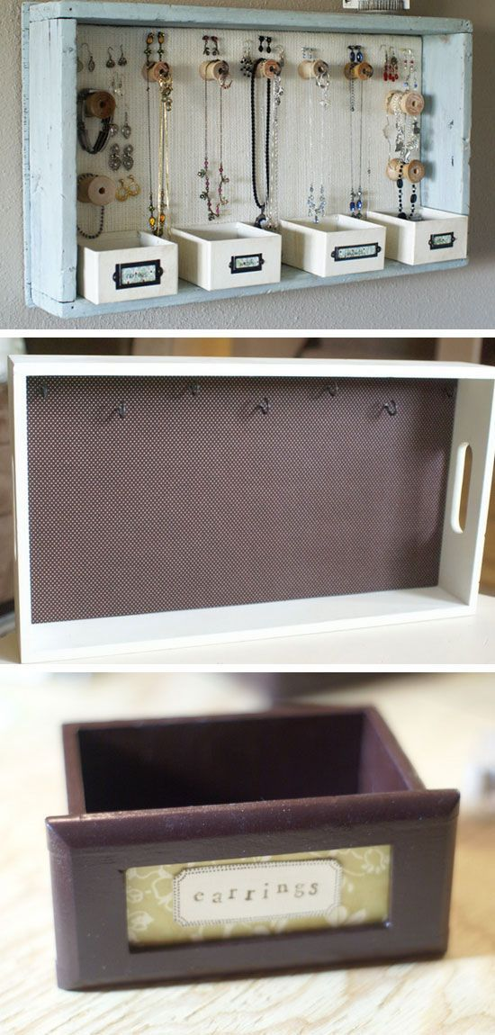 DIY Jewelry Storage Ideas for Small Bedrooms