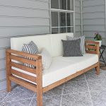 DIY Outdoor Couch - worldefashion.com/decor