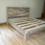 DIY Pallet King Size Bed Plans