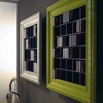 DVD and CD Storage Ideas with Picture Frames
