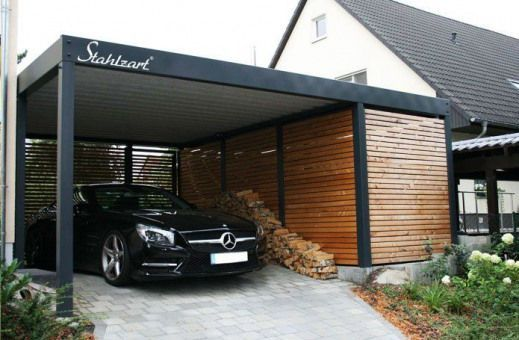 Der Metall Carport mit Abstellraum. Made for you. | Stahlzart Metall Carports He…