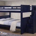 Dillon Full Size Bunk Bed with Stairway Storage