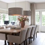 Dining Room Chandeliers to Brighten Up Your Thanksgiving Decorations