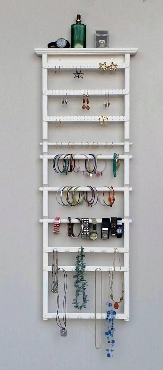 Earring Holder, Jewelry Organizer, Necklace Holder, Earring Display, Wall Mount Jewelry Organizer, Jewelry Display, Earring Organizer