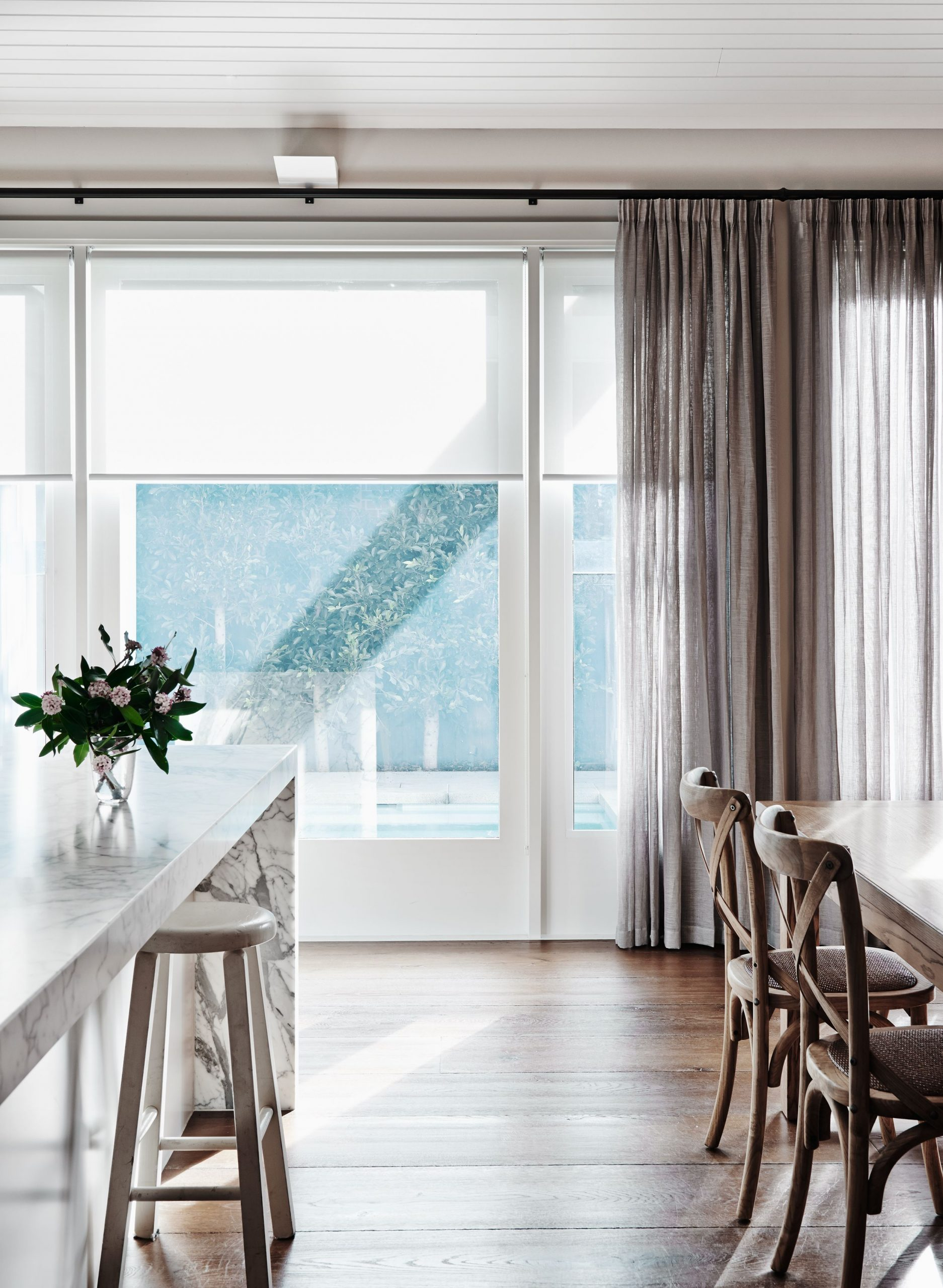 Enjoying the sun filtering through these beautiful BQ pinch pleat #curtains in A…