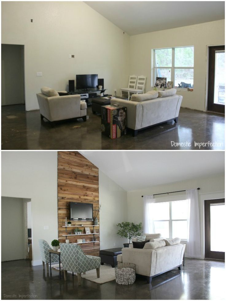 Eric and Kelsey's Budget Living Room Makeover