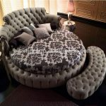 European Styled King Size Round Bed, Bisini Luxurious Wedding Bedroom Furniture ...