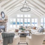 Fall Home Decor Tour - Navy and Rust - The Lilypad Cottage