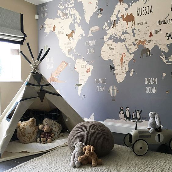 Fascinating Kid's Playroom Decorating Ideas to Help Your Child Learn – mybabydoo
