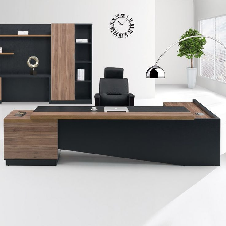 Fashion High end office system furniture l shape manager executive office desk w…
