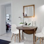 Folding wooden dining table for small spaces- Klappbarer Esstisch aus Holz für ...