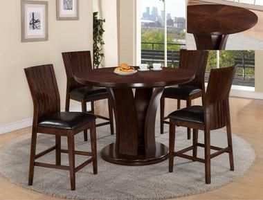 Furniture of America 3395RT Round Dining Set