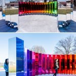 Giant Mirror Installation Invites the Public to Step Inside a Kaleidoscope of Color