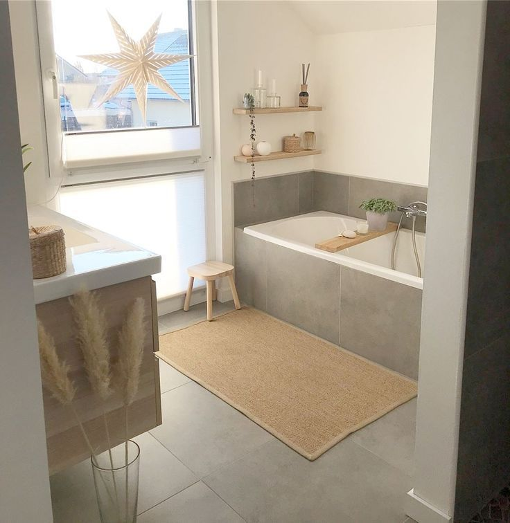 Gray tiles in the bathroom – Katja – #bath #tiles #gray #im #Katja – dining room – #b …,  #…