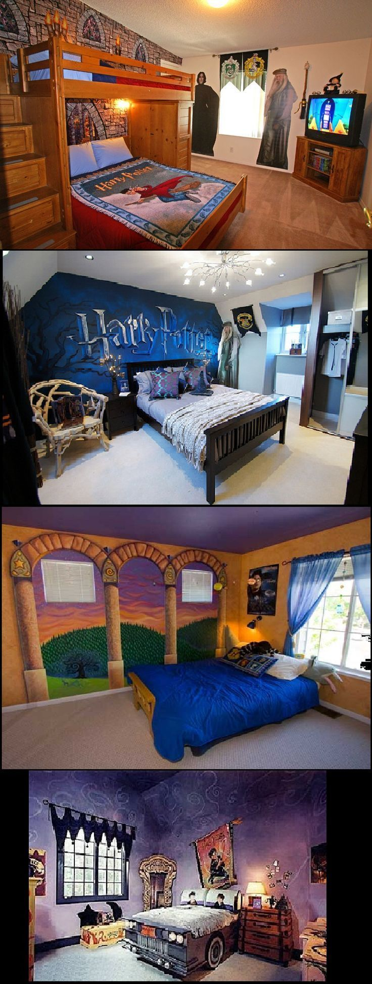 Harry Potter Themed Bedroom Ideas – #awesome #Bedroom #Harry #Ideas #Potter