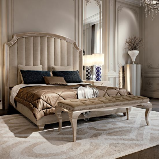 High End Italian Upholstered Storage Bed – Juliettes Interiors