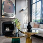 Home Decorating DIY Projects: In the front sitting area, a Chinese ancestor portrait hangs above the fireplace... - Decor Object | Your Daily dose of Best Home Decorating Ideas & interior design inspiration