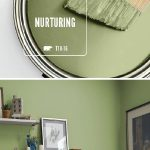 Home Decorating Ideas Bathroom Turn your home into a peaceful oasis with the BEHR Paint Color of the Month: Nur… - bingefashion.com/interior