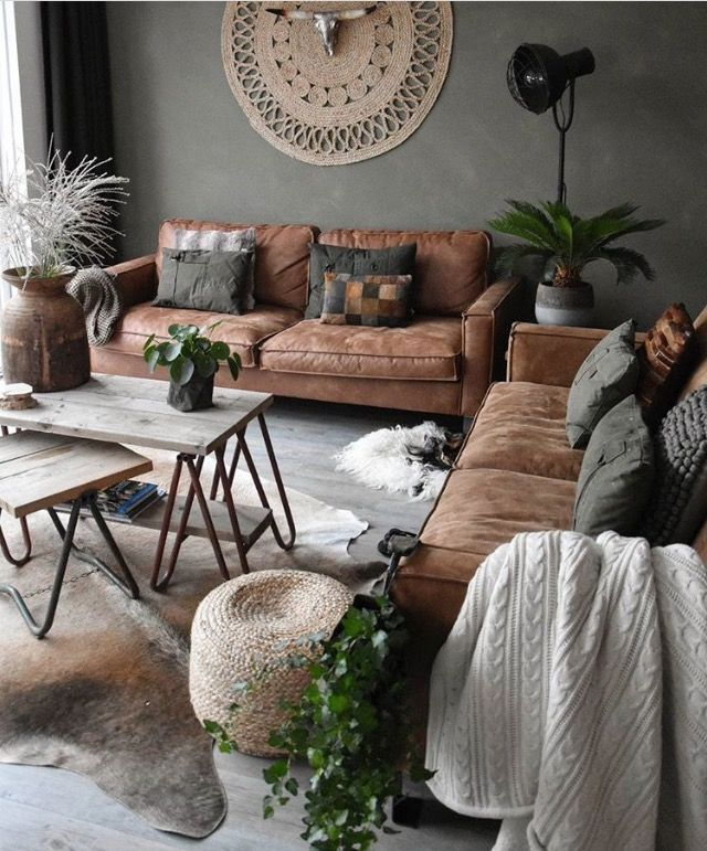 """Home Decorating Ideas Cozy """"Earthy""""colors that make this living room super cozy. amzn.to/2t2peSa"""