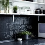 Home Decorating Ideas Kitchen Blackboard color is great for the kitchen - for recipe or even for the ...