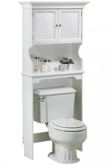 Home Decorators Collection Hampton Harbor 30 in. W Space Saver in White-2480510410 – The Home Depot