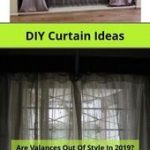 Homemade bed curtains and no-sew, inexpensive, long curtains made from sheets. r...