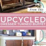 How I Turned This Old Dresser Into a Beautiful Dining Room Buffet