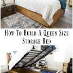 How To Build A Queen Size Storage Bed - Addicted 2 DIY