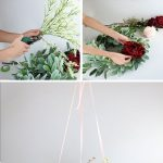 How To Make A Floral Chandelier
