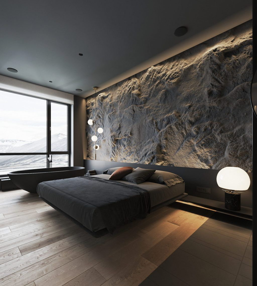 How To Use Lighting And Textures To Add Interest To Dark Interiors