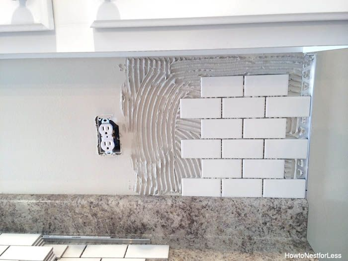 How to Install a Kitchen Backsplash – The Best and Easiest Tutorial