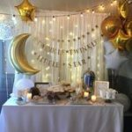How to Make Baby Shower Decorations on a Budget - DIY Backdrops - #backdrops #bu...