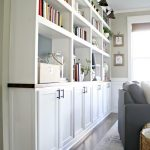 How to create custom built ins with kitchen cabinets
