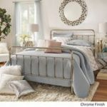 INSPIRE Q Giselle Graceful Lines Victorian Chrome King-Sized Metal Bed#Skincare ...
