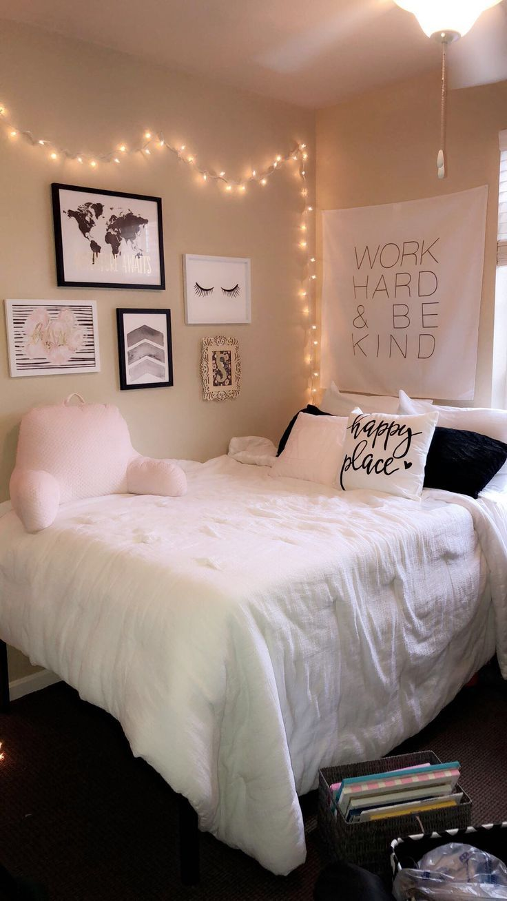 Ideen für College-Apartment-Zimmer #pink #hobbylobby #college #apartment #white – Harvey Clark
