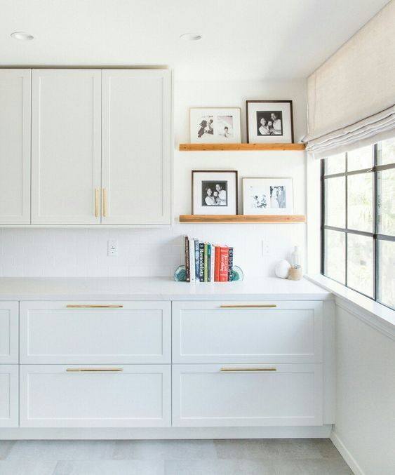 Ikea cabinet storage with Semihandmade Fronts | Mudroom Inspiration