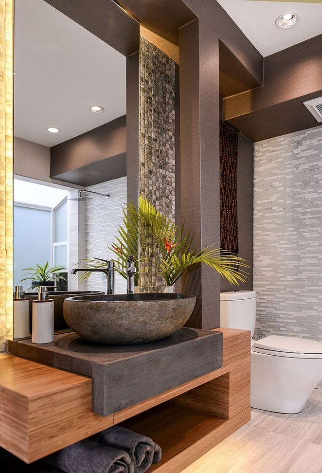 Impress Your Site visitors with These 14 Charming Half-Bathroom Designs #bathroo…