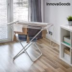 InnovaGoods Electric Drying Rack 100W Grey (6 Bars)