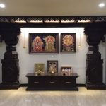 Interior Design for Pooja Room Wall Units - Indian Pooja Room Designs