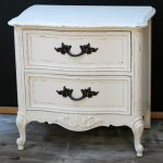 Items similar to Shabby Chic nightstand french provincial distressed vintage white. SALE on Etsy