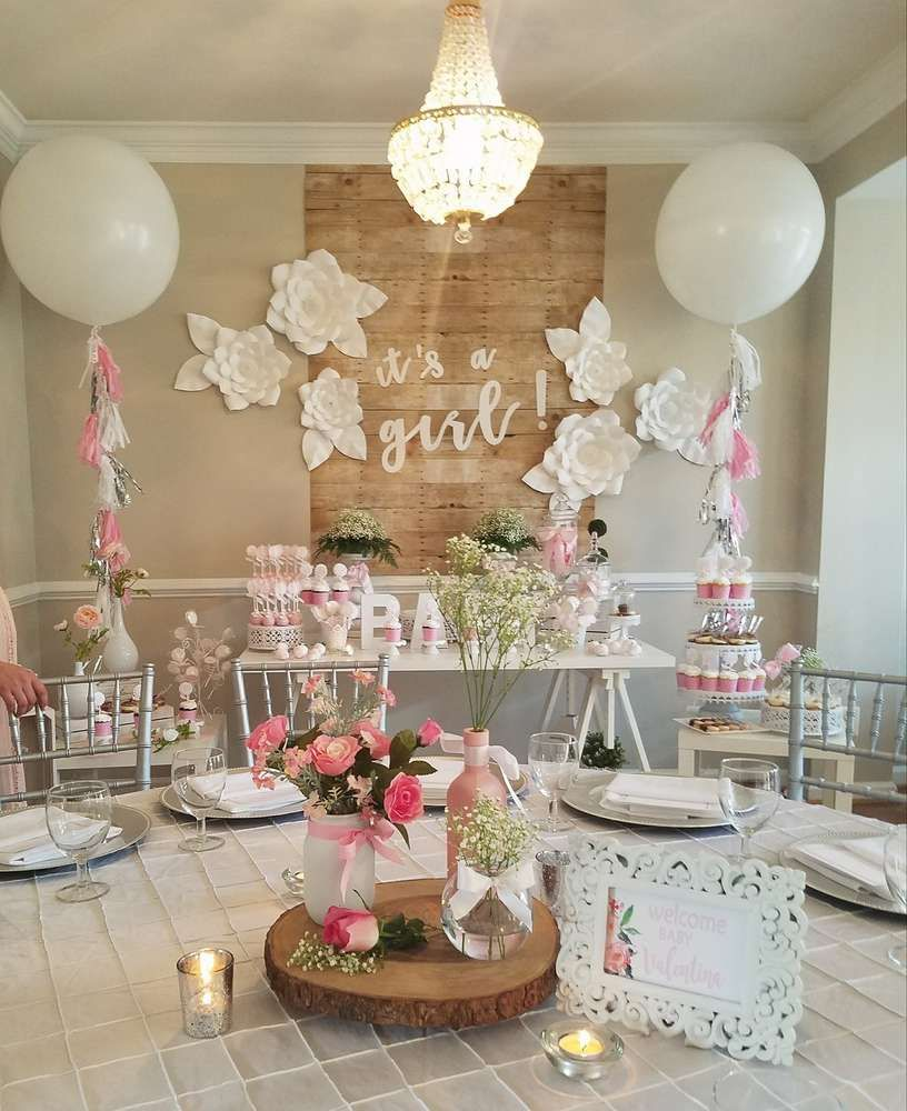 It's a Girl Baby Shower! | CatchMyParty.com