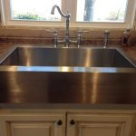 KOHLER Vault Farmhouse Apron-Front Stainless Steel 36 in. 4-Hole Single Bowl Kitchen Sink-K-3942-4-NA - The Home Depot