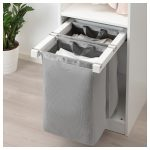 KOMPLEMENT Pull-out storage bag - white - IKEA