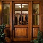 KSR HIGHLAND CRAFTSMAN DOOR - KNOTTY ADLER ENTRY DOOR EX-1350 - KSR Door and Mill Comany