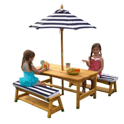 Kids 4 Piece Writing Table and Chair Set